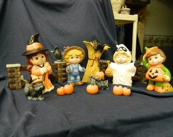 Sweet Tot Halloween Scene