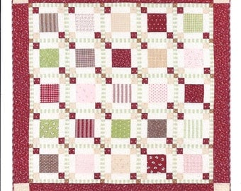 Quilt Kit - Throw size - Park Lane at Christmas