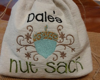 Personalized Nut Sack