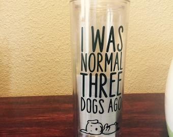 Dogs 16oz Tumbler