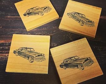 Vintage Car Coasters