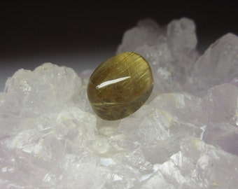 Natural Rutilated Quartz Gemstone 8.9ct