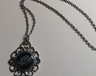 Love Filagree Necklace