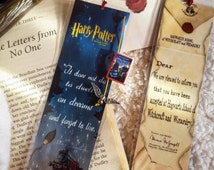 Harry Potter and the philosopher's stone bookmark - Handmade