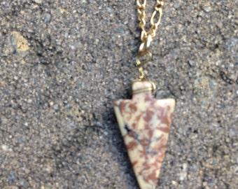 Brown arrowhead