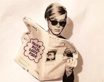 Warhol Pin