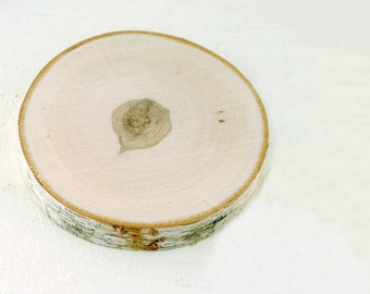 BIRCH Wood Slabs 7-10 Inch, Natural Wood, Wood Slices, Birch Slices