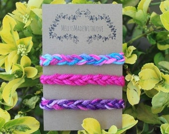 Yarn Headband Set