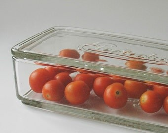 Glass refrigerator dish with lid - Electrolux