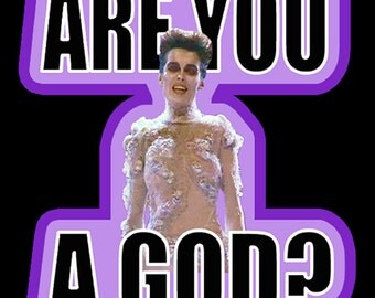 """80's All Time Classic Ghostbusters Gozer the Gozerian """"Are You A God?"""" custom tee Any Size Any Color"""