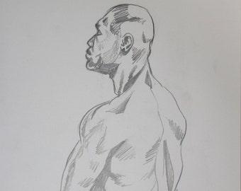Figure Drawing, Zen Man