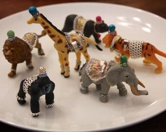 Safari (Jungle) Animal Pendant Necklace