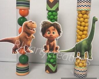 12 The Good Dinosaur Candy Tube Favor