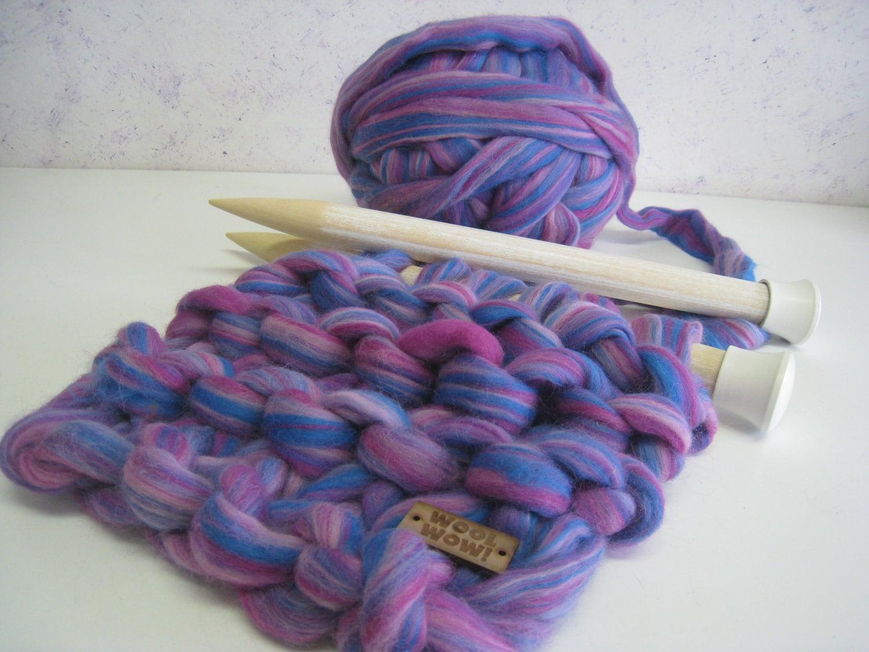 Large Knitting Needles And Wool Uk : Super big wooden needles giant knitting us