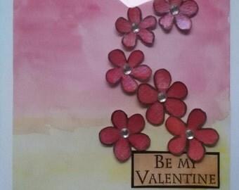 "Valentine Card ""Be My Valentine"""