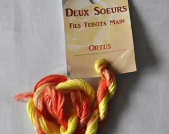 Ortus hand dyed yarn