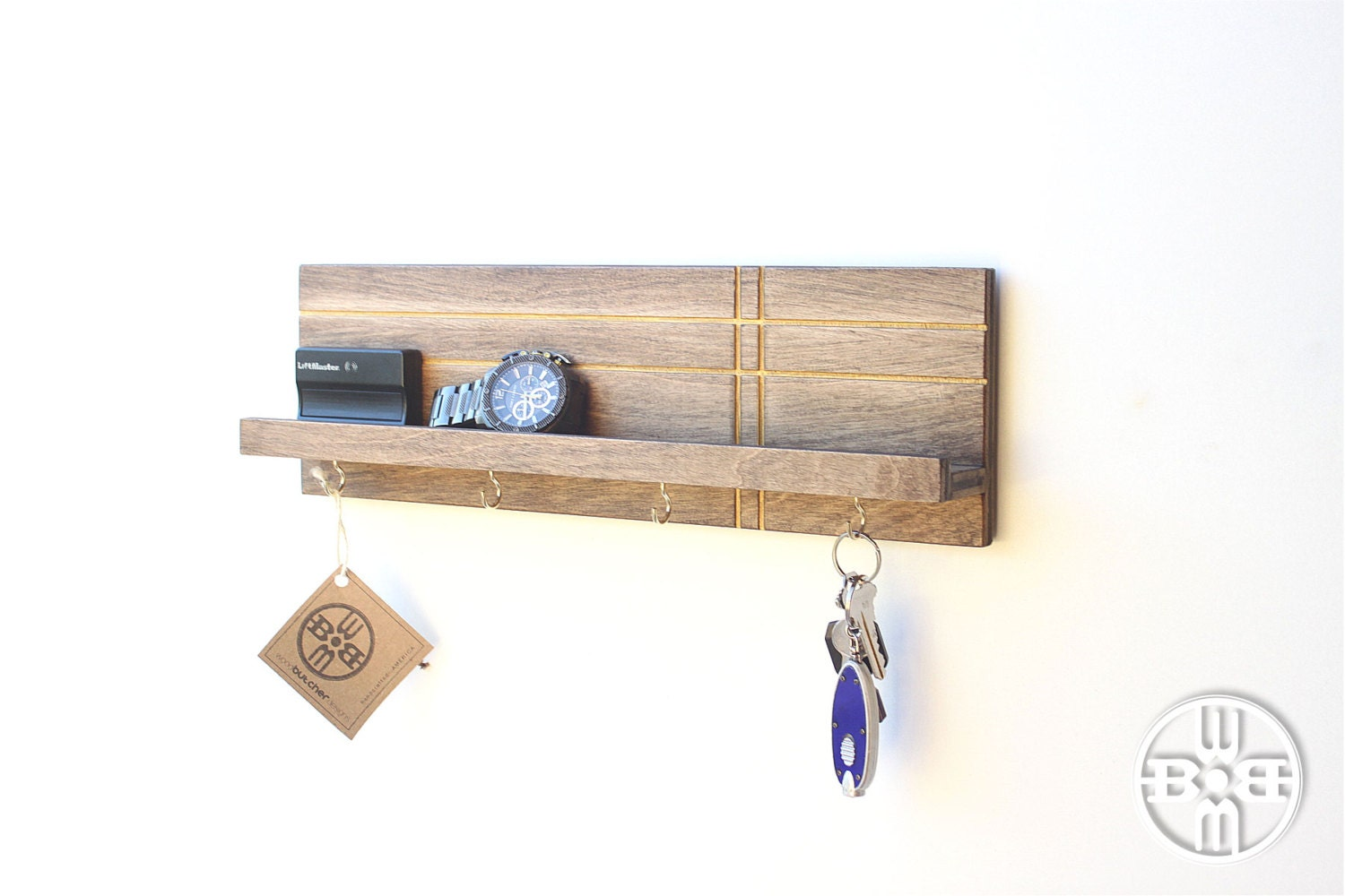 Key Holder For Wall Modern Shelf Modern Entryway Wall