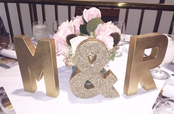Gold glitter cardboard letters stand alone 8in cardboard for Glitter cardboard letters
