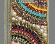 Phone Accessories Rhinestone Crystal Hard Covers Fit All Device Phone Skins Customize Bohemian Style Mobile Cases