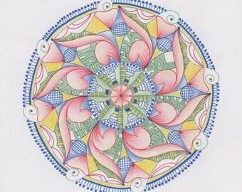 Healing Energy Mandala Prints