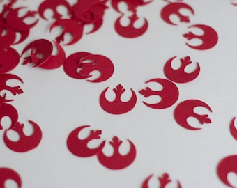 Star Wars Rebel Logo Party Confetti