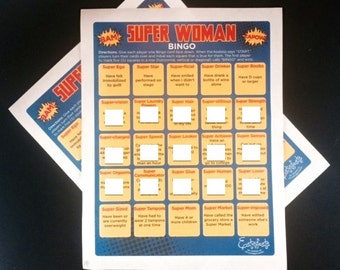 Super Woman Bingo