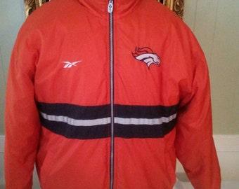 Denver Broncos Vintage Jacket Reversible