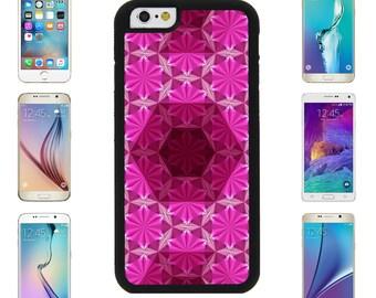 Bright Hexagons Cover Case for Apple iPhone 7 7 Plus 6 6S Plus Samsung Galaxy S7 Edge S6 Plus Note 5 6 7 8 9 10 att sprint verizon