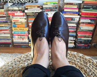 dark brown vintage shoes