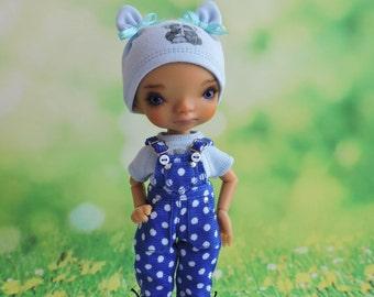 Clothes(set) for a doll BJD Lati Yellow/Pukifee/IrrealDoll/Luts Tiny Delf