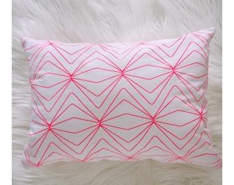 SALE Neon Pink Bub Pillow