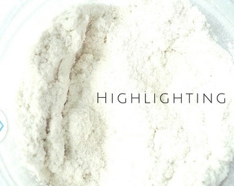Mineral Makeup- finishing powder, natural cosmetics, organic cosmetics, vegan cosmetics, highlighter makeup, face hilighter,  cruelty free