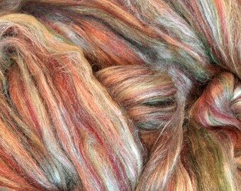8oz Ashland Bay Merino/Tussah Silk Roving - FREE SHIPPING!