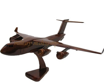 USAF Boeing Air Force C-17 Globemaster III Mahogany Wood Handcrafted Wooden Military Model Gift