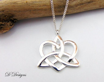 Chakra de joyas, colgante de plata Pagan, Yoga, collar de encanto, collar de plata, collar de moda de plata