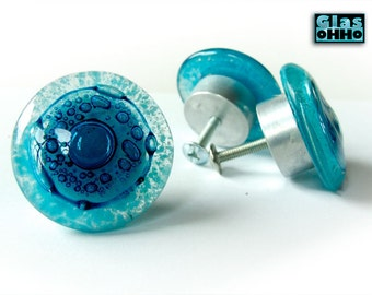 AZURE Glass knobs