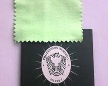 silver polishing cloth, anti-tarnish, silver cleaner, cotton, metal polishing cloth, 8x8cm/3.1x3.1 inch, 3pcs