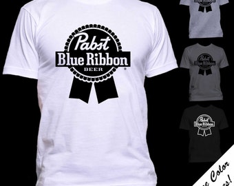Pabst Blue Ribbon Logo T-shirt