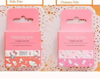 Very cute washi tapes - Hello Kitty/Rilakkuma/Melody/Charmmy Kitty/Totoro