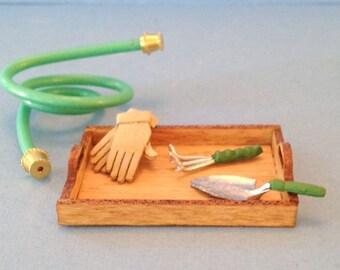 1:12 Dollhouse Miniature Gardening kit/ Miniature gardening DI DF118
