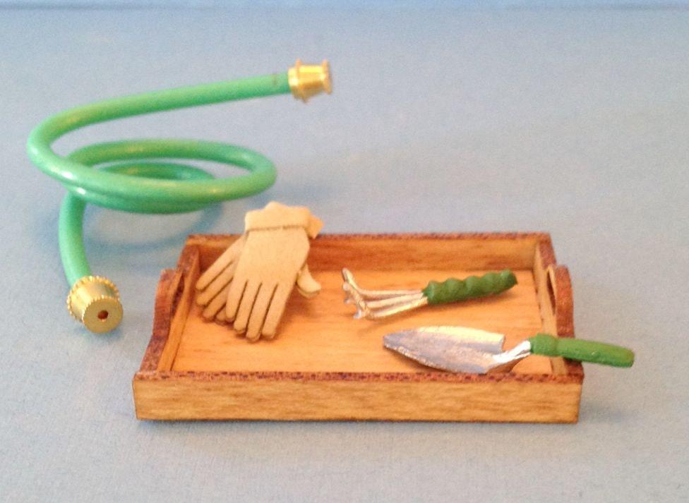 1 12 Dollhouse Miniature Gardening Kit Miniature Gardening Di