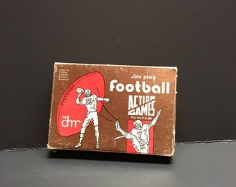 Let's play football card game sports ball