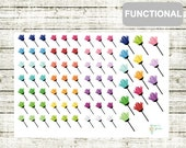 F04 Dusting/Cleaning Stickers, perfect for any Planner