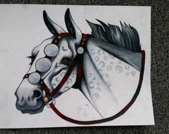 Little Grey - Original Art Piece