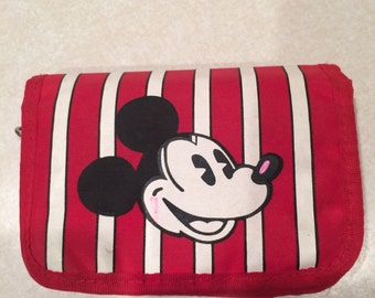 Mickey Mouse Red Wallet