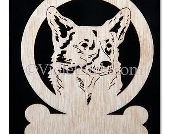 Pembroke Corgi Ornament-Wood Pembroke Corgi Ornament-Pembroke Gift-Corgi-Free Personalization