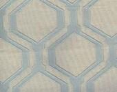 Textured Aqua Geometric F...