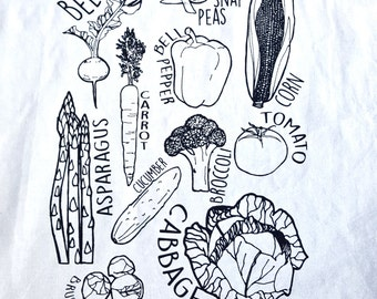 Veggie Tea Towel