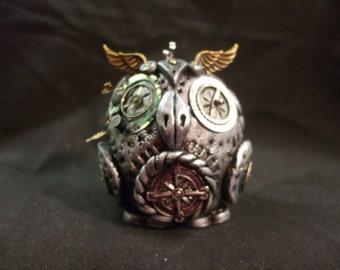 Steampunk Owl - hand made one of a kind
