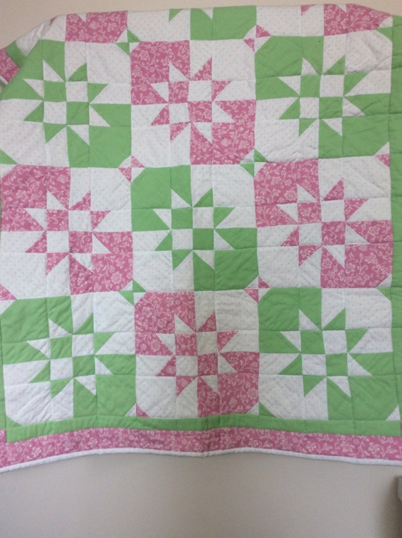 Mint and pink quilt Mint green quilt ladybug quilt pink : ladybug quilt - Adamdwight.com